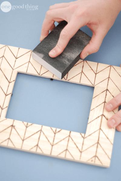 Wood-Burned Frames and Other Crafts