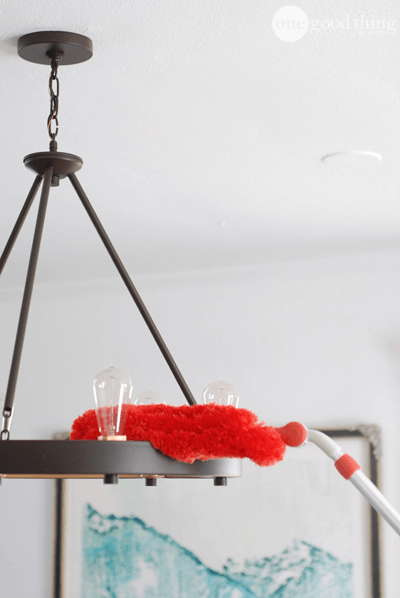 Cleaning Your Light Fixtures