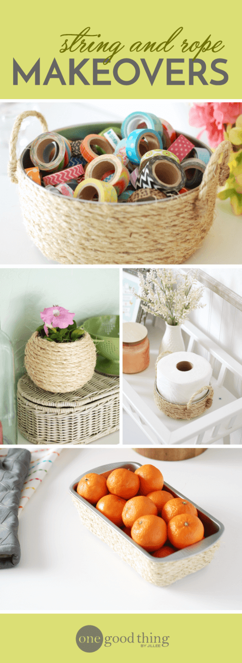 Repurposing Old Stuff With String