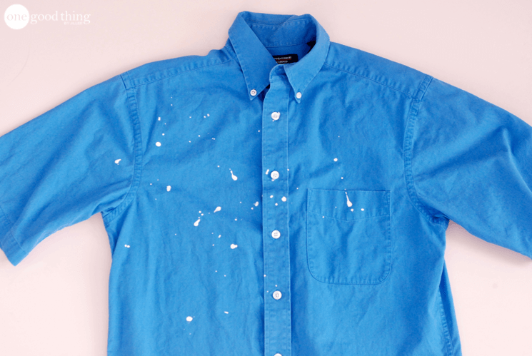 How To Remove Paint Splatters And Rescue Your Clothes