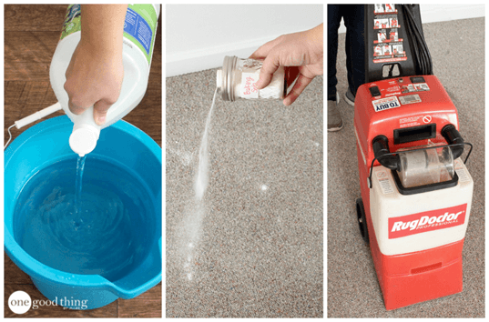 How To Make A Natural Carpet Cleaning Solution