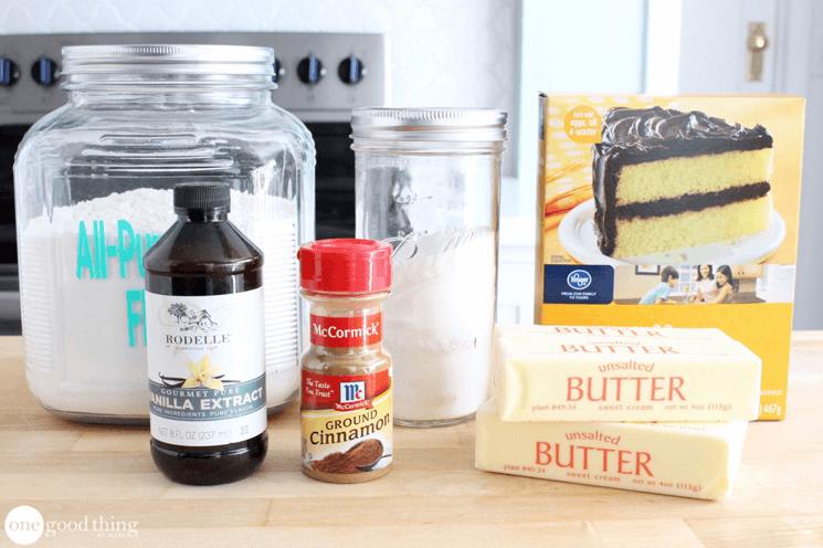 Boxed Cake Mix Hacks