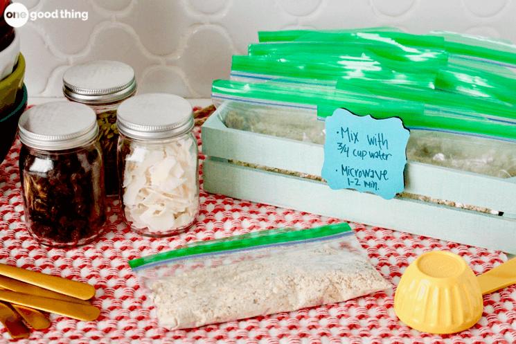 Homemade Oatmeal Packets