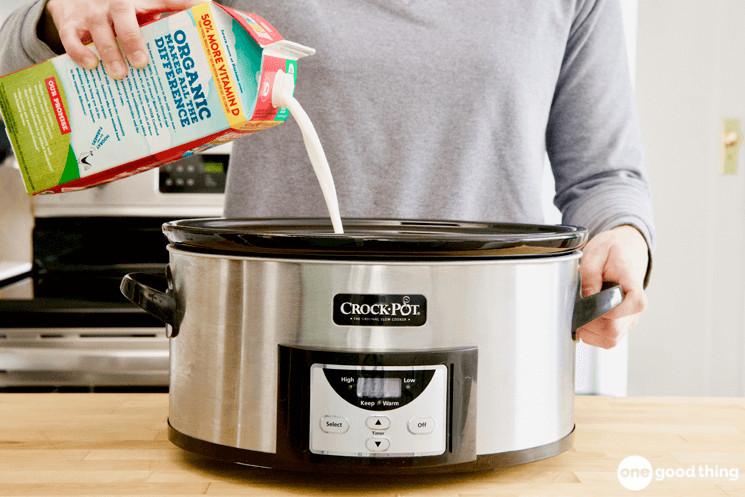 Crockpot Yogurt