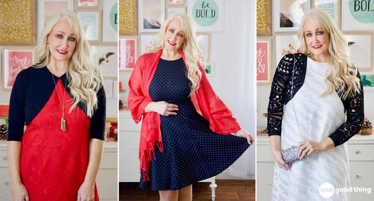 Figure Flattering Holiday Dresses for Mature Women