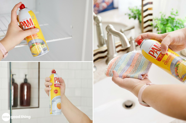 Cooking Spray Cleaning Hacks