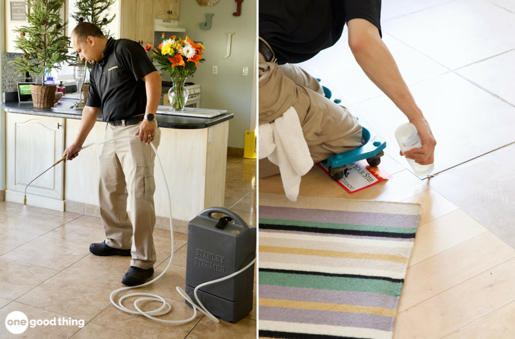 Cleaning and Sealing Tile Floors