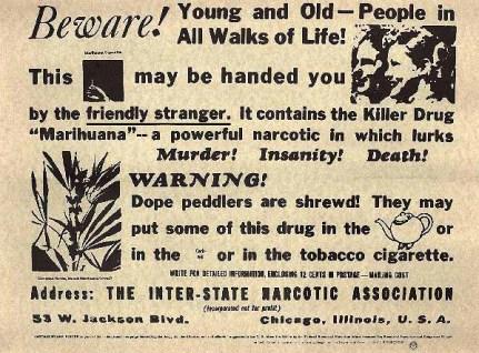 anti-cannabis propaganda