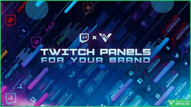 How Twitch Panels Can Help You Build Your Streamer Brand