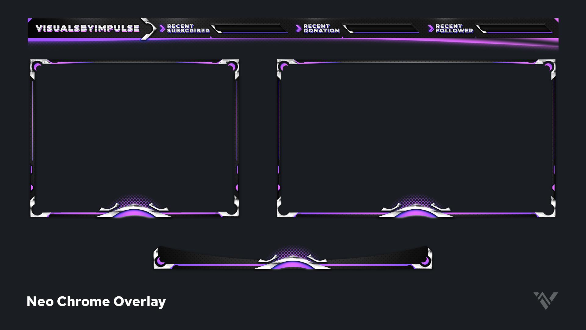 Neo Chrome Free Overlay - Visuals by Impulse