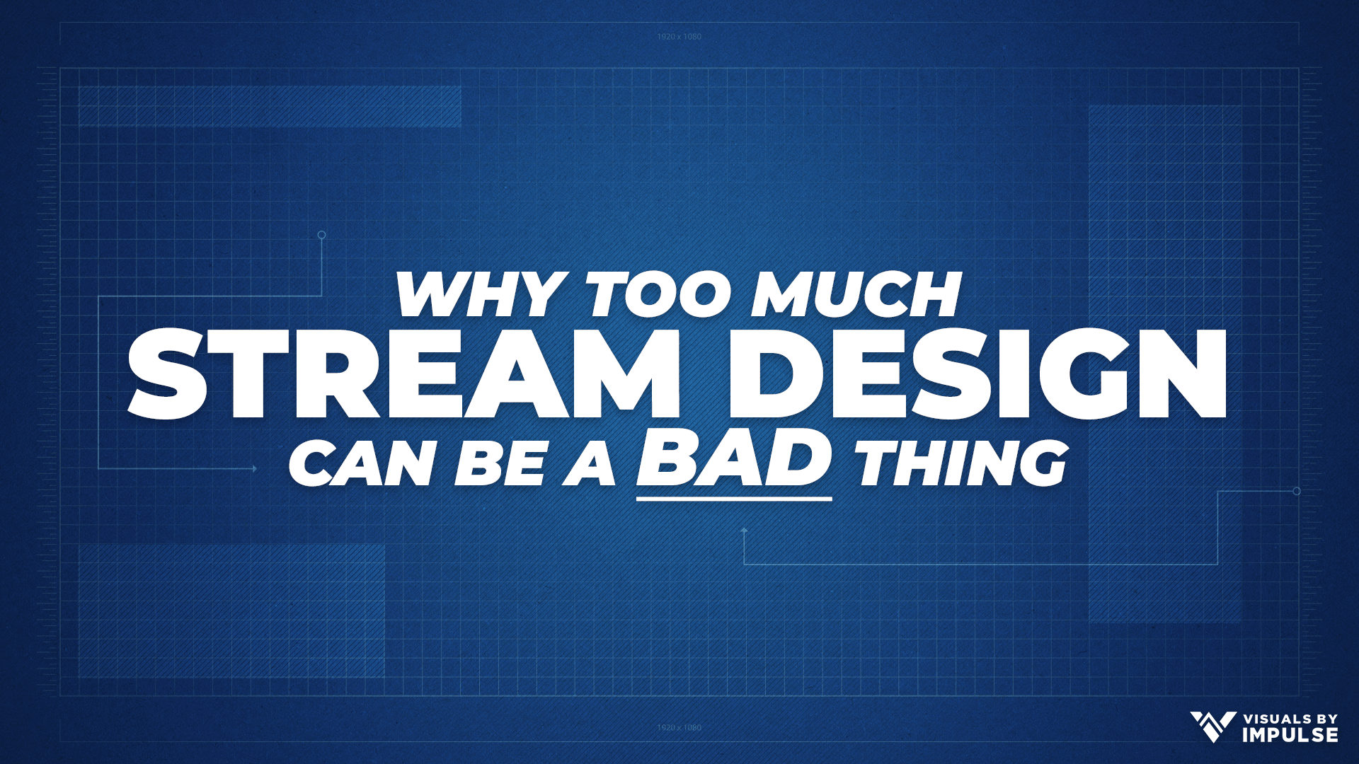 Why Too Much Stream Design Can Be A Bad Thing