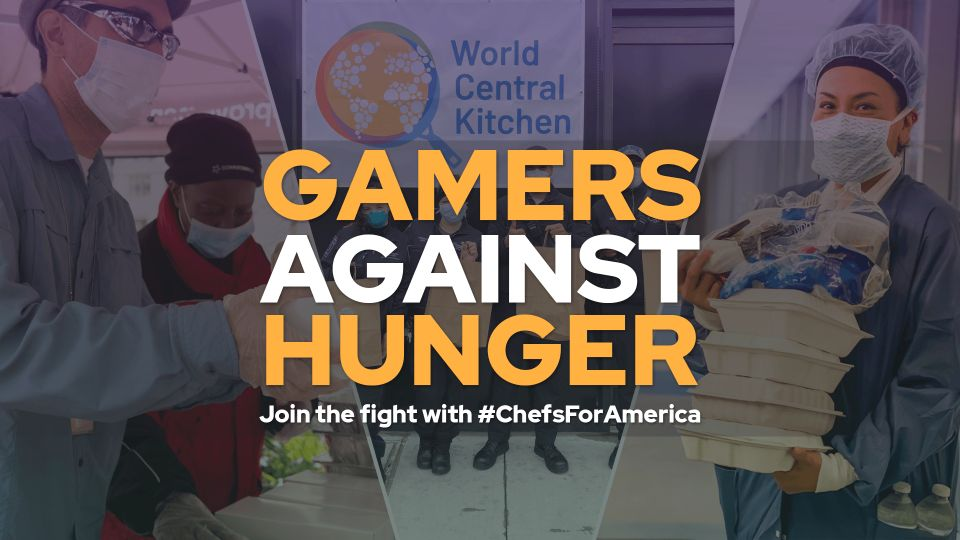 Gamers Against Hunger Join the Fight with #ChefsForAmerica