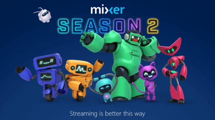 colorful goofy robots announce mixer season 2