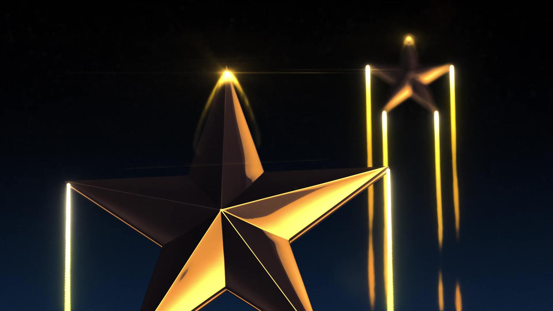 Shooting Stars over Night Sky