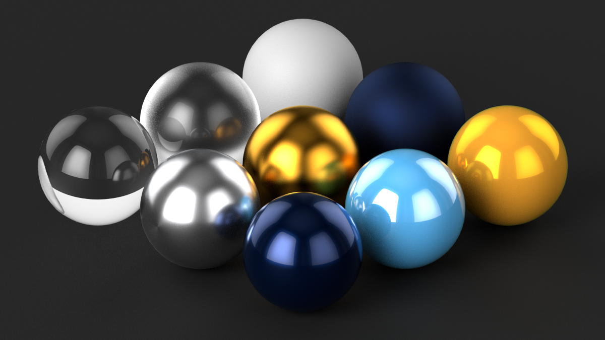 materials and colors