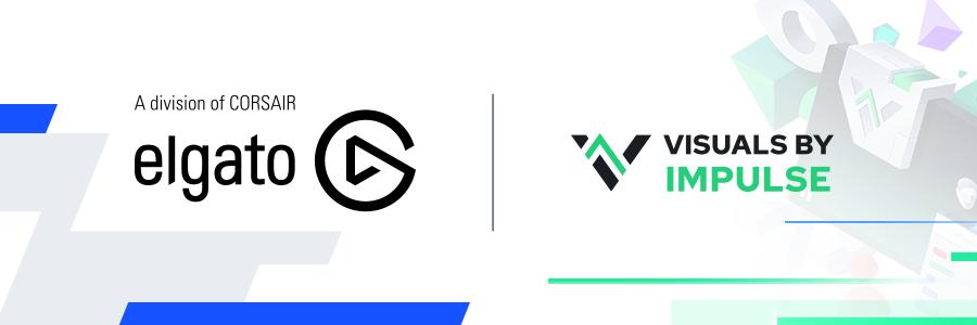 elgato visuals by impulse logos