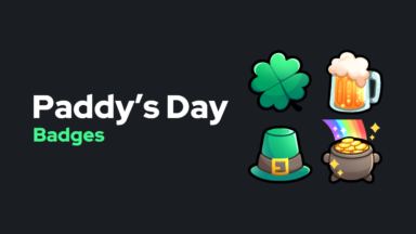 Paddy's Day Badges