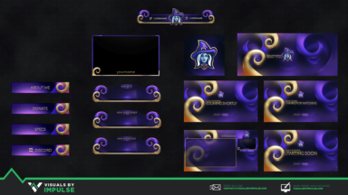 A Witch Diamond Stream Package - Visuals by Impulse