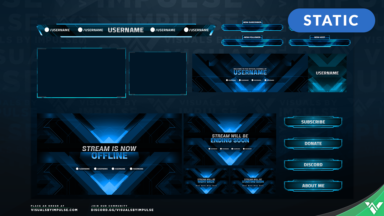Abstract Stream Package - Visuals by Impulse