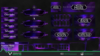 Abyssal Void Stream Package - Visuals by Impulse