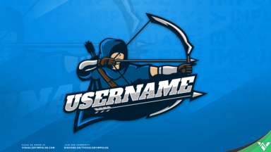 Archer Mascot Logo - Visuals by Impulse