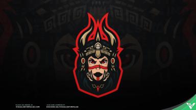 Aztec Priestess Mascot Logo - Visuals by Impulse