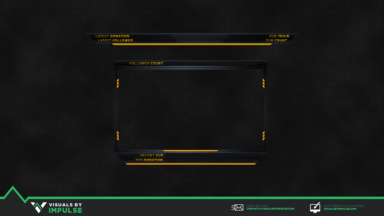 Hazard Signal Stream Overlay - Visuals by Impulse