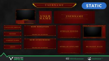 Hero Stream Package - Visuals by Impulse