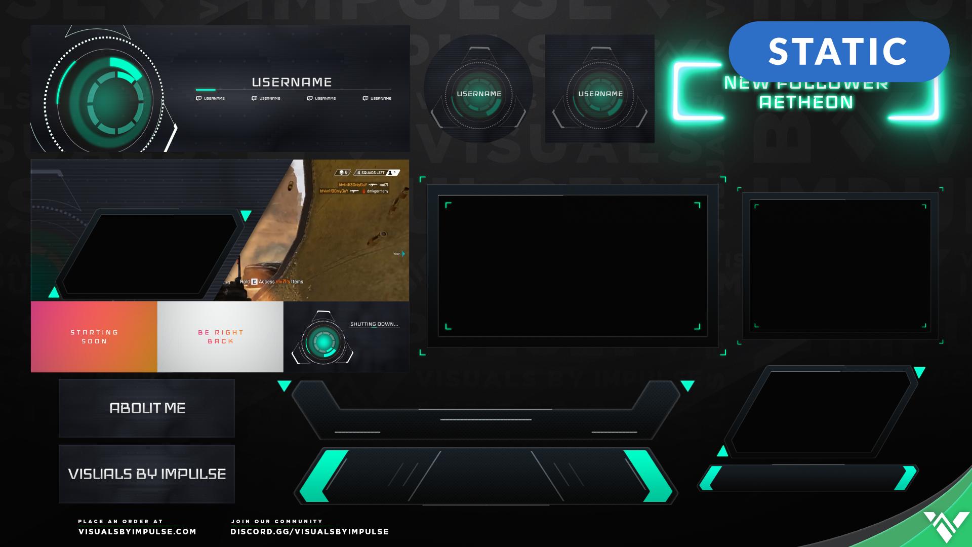 Javelin Stream Package - Visuals by Impulse