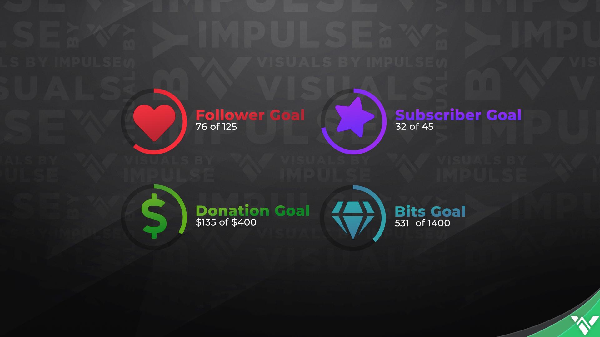 JellyUI Event List & Goal Widget Pack - Visuals by Impulse