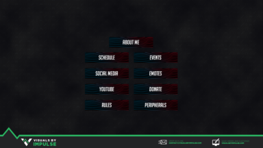 Lines Twitch Panels - Visuals by Impulse