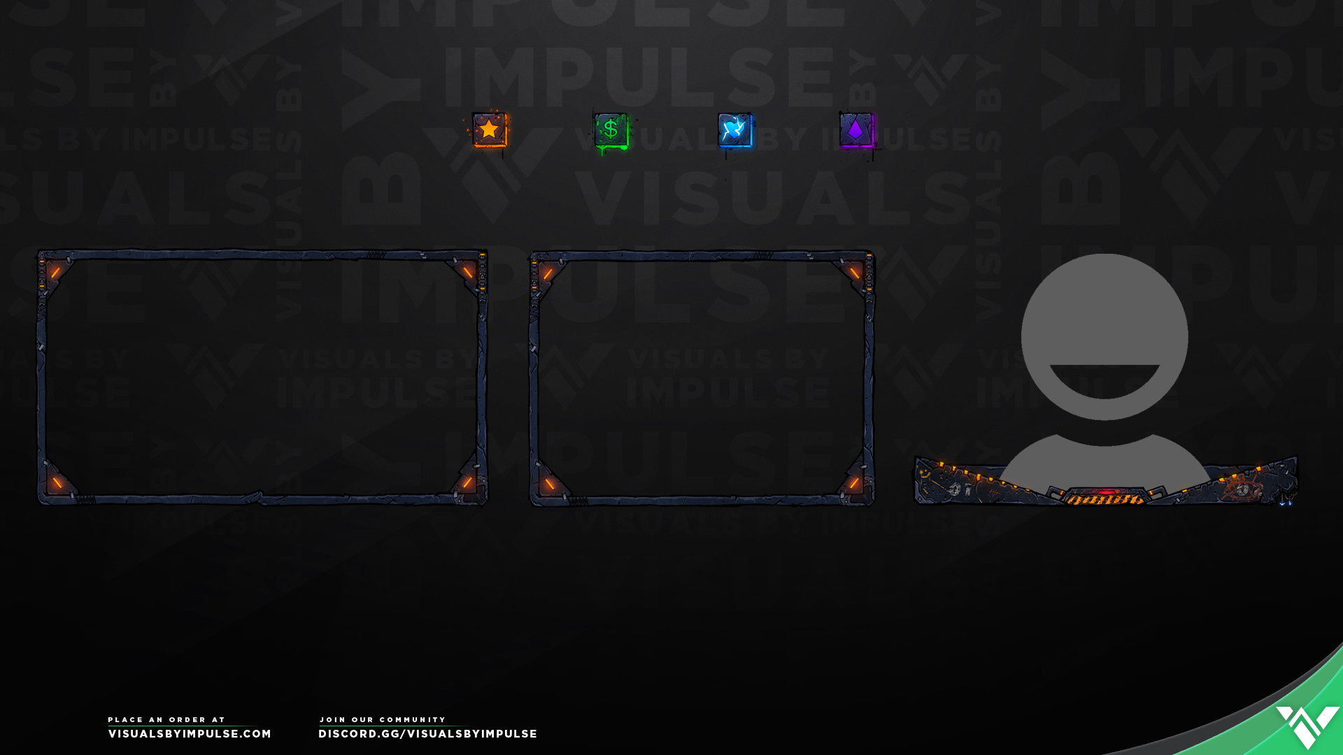 Mayhem Stream Package - Visuals by Impulse
