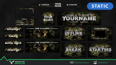 Military Stream Package - Visuals by Impulse