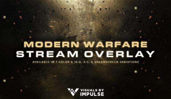 Modern Warfare Overlay - Visuals by Impulse