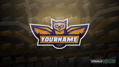 Owl Mascot Logo - Visuals by Impulse