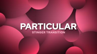 Particular Stinger Transition