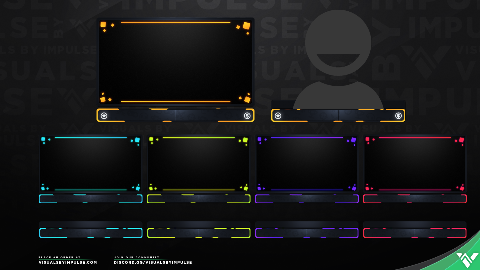 Pixel Storm Stream Package - Visuals by Impulse