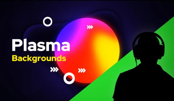 Plasma Green Screen Backgrounds