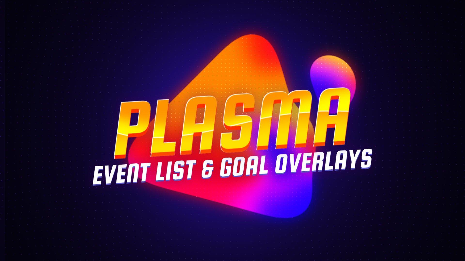 Plasma Event List Goal Overlays