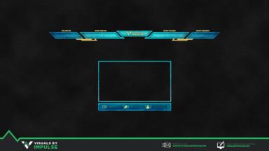 Poseidon Twitch Overlay - Visuals by Impulse