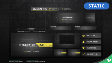 Project Surge Stream Package - Yellow