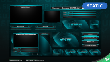 Qore Stream Package - Visuals by Impulse