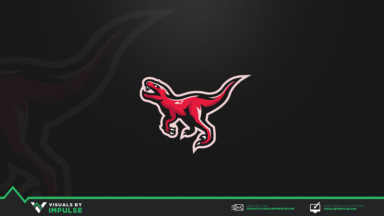 Raptor Mascot Logo - Visuals by Impulse