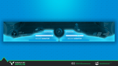 Reactor Watch Twitch Overlay - Visuals by Impulse