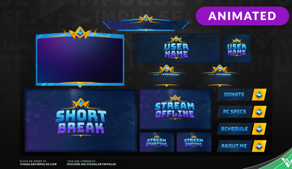 Realm Stream Package - Visuals by Impulse