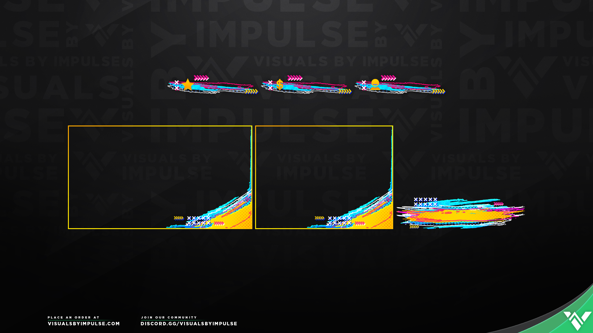 Riptide Stream Package - Visuals by Impulse