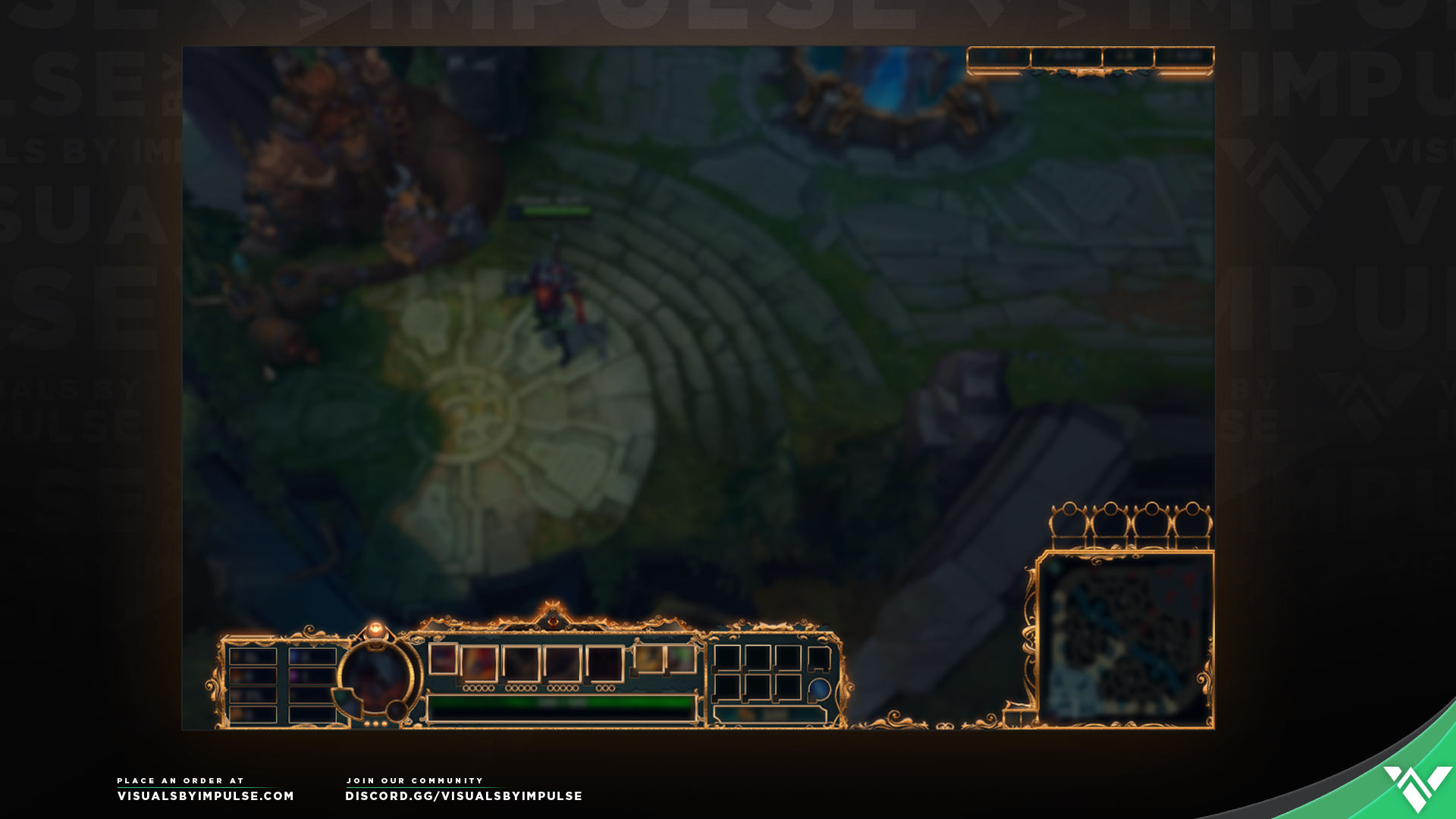 Royal LoL In-Game Overlay - Visuals by Impulse