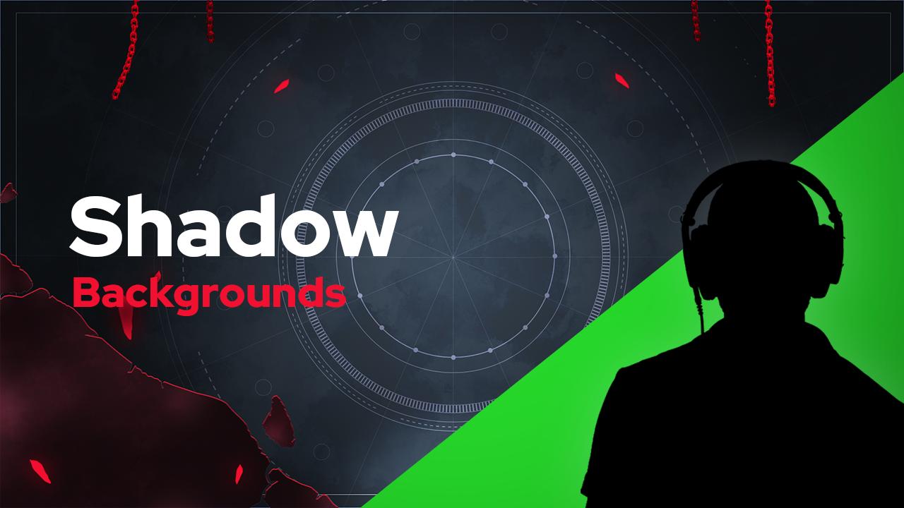 Shadow Green Screen Backgrounds