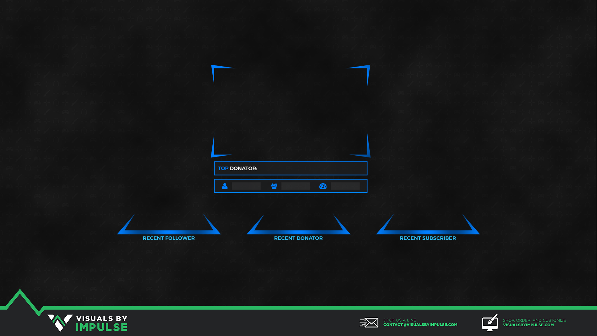 Shaped Reality Twitch Overlay - Visuals by Impulse