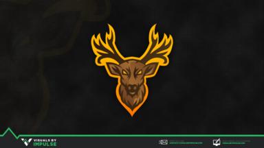 Shika Mascot Logo - Visuals by Impulse